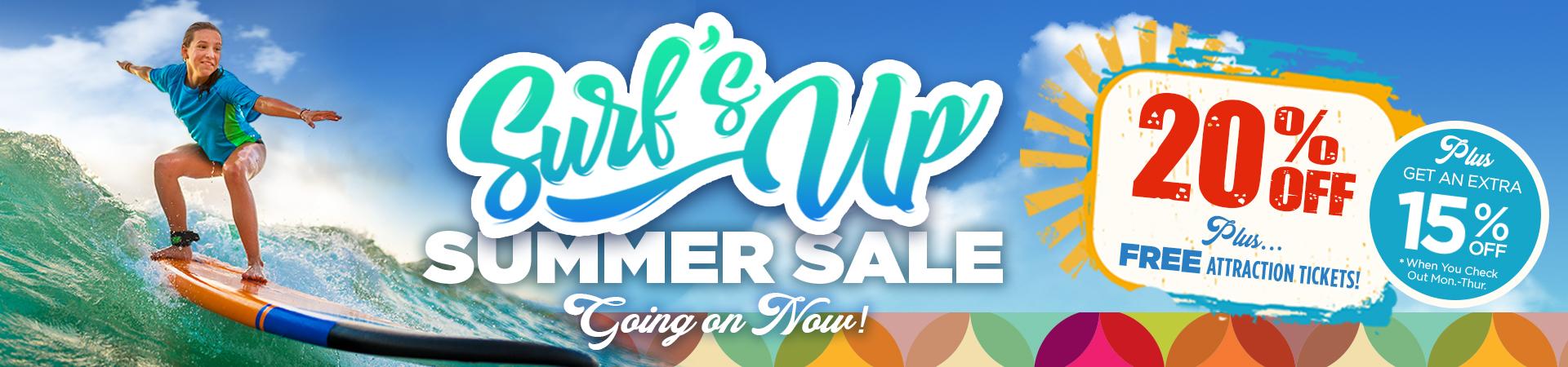 Surfs Up Summer Sale